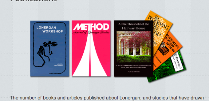 Philosophy Monday: Lonergan Part 1