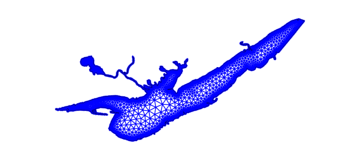 Interpolating Bathymetry to Unstructured Mesh